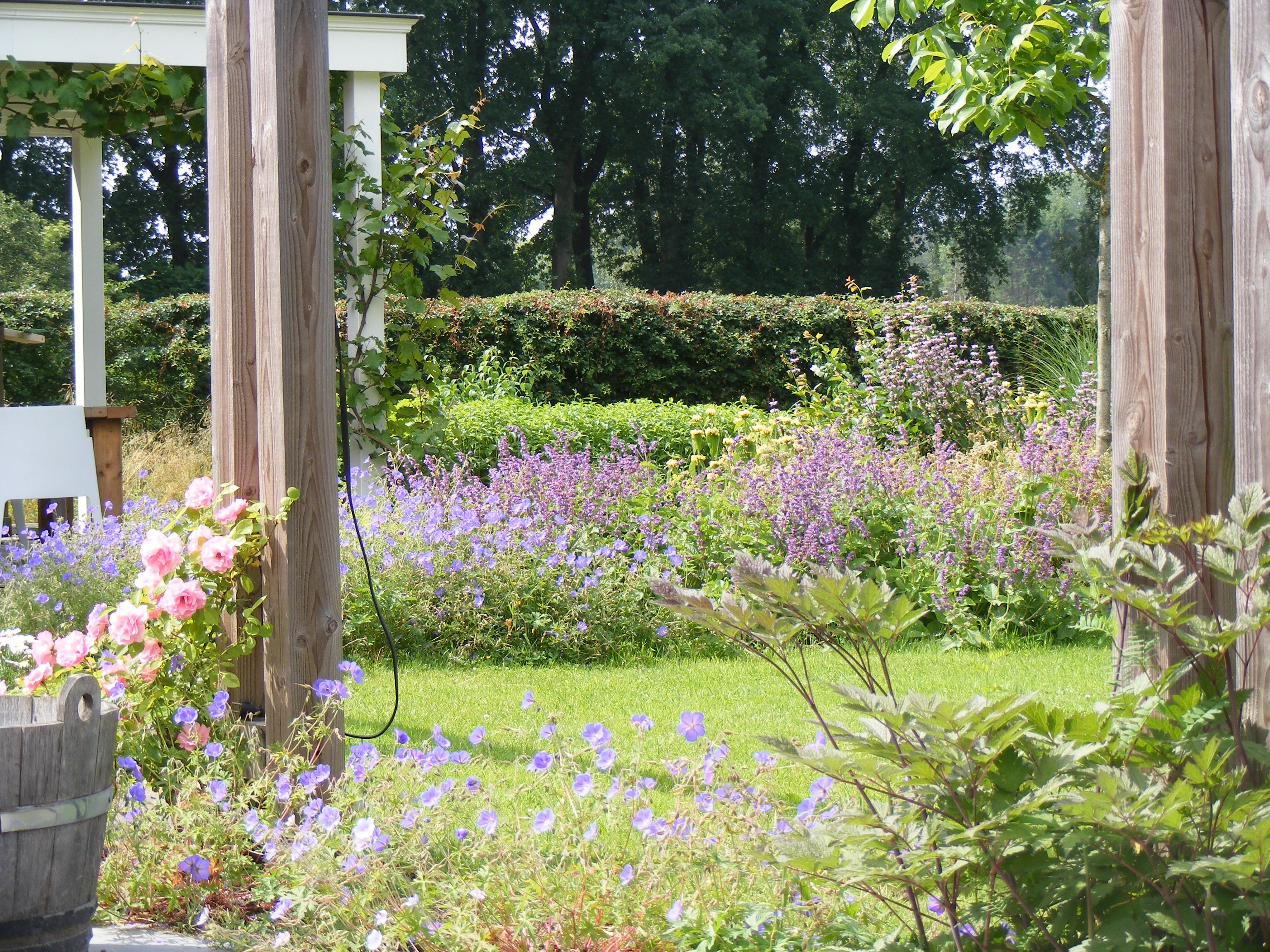 Beplantingsplan Natuurlijke Tuin : Beplanting centrum voor natuurlijk tuinieren